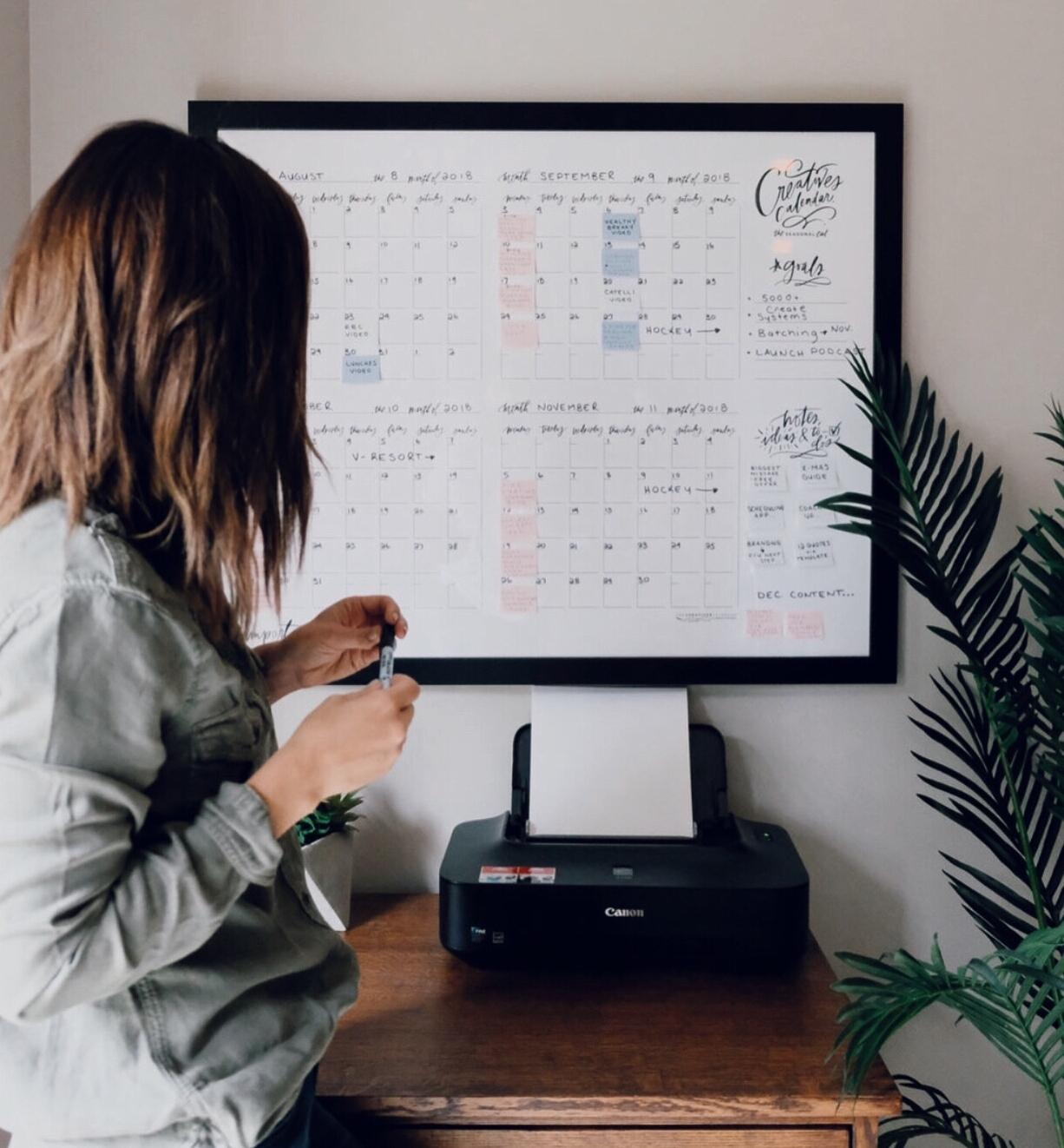 Calendar via Lindsay Letters