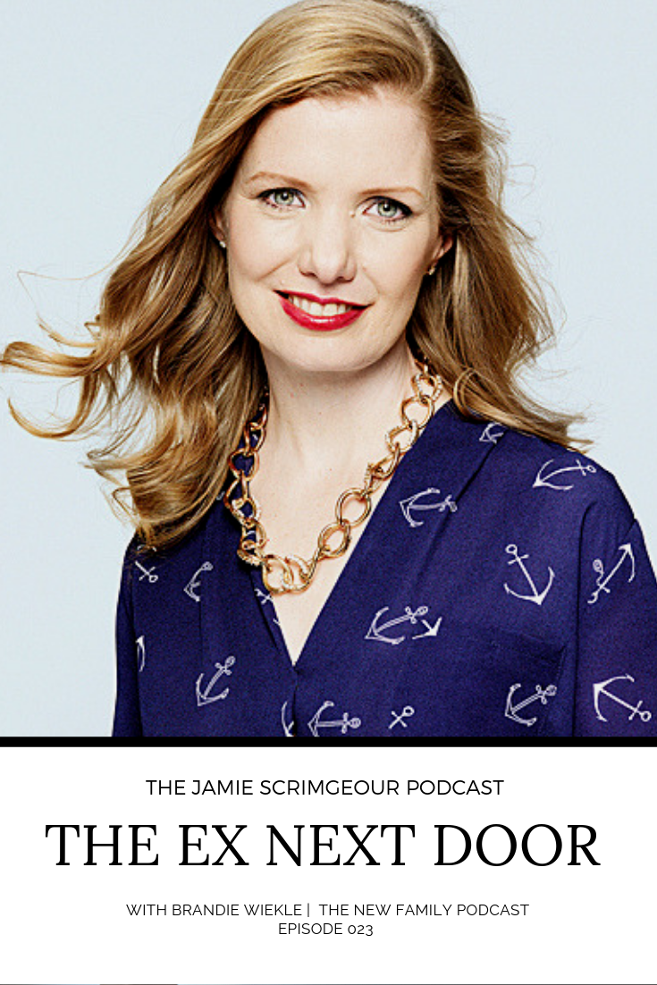 Brandie Weikle of The New Family Podcast on The Jamie Scrimgeour Podcast