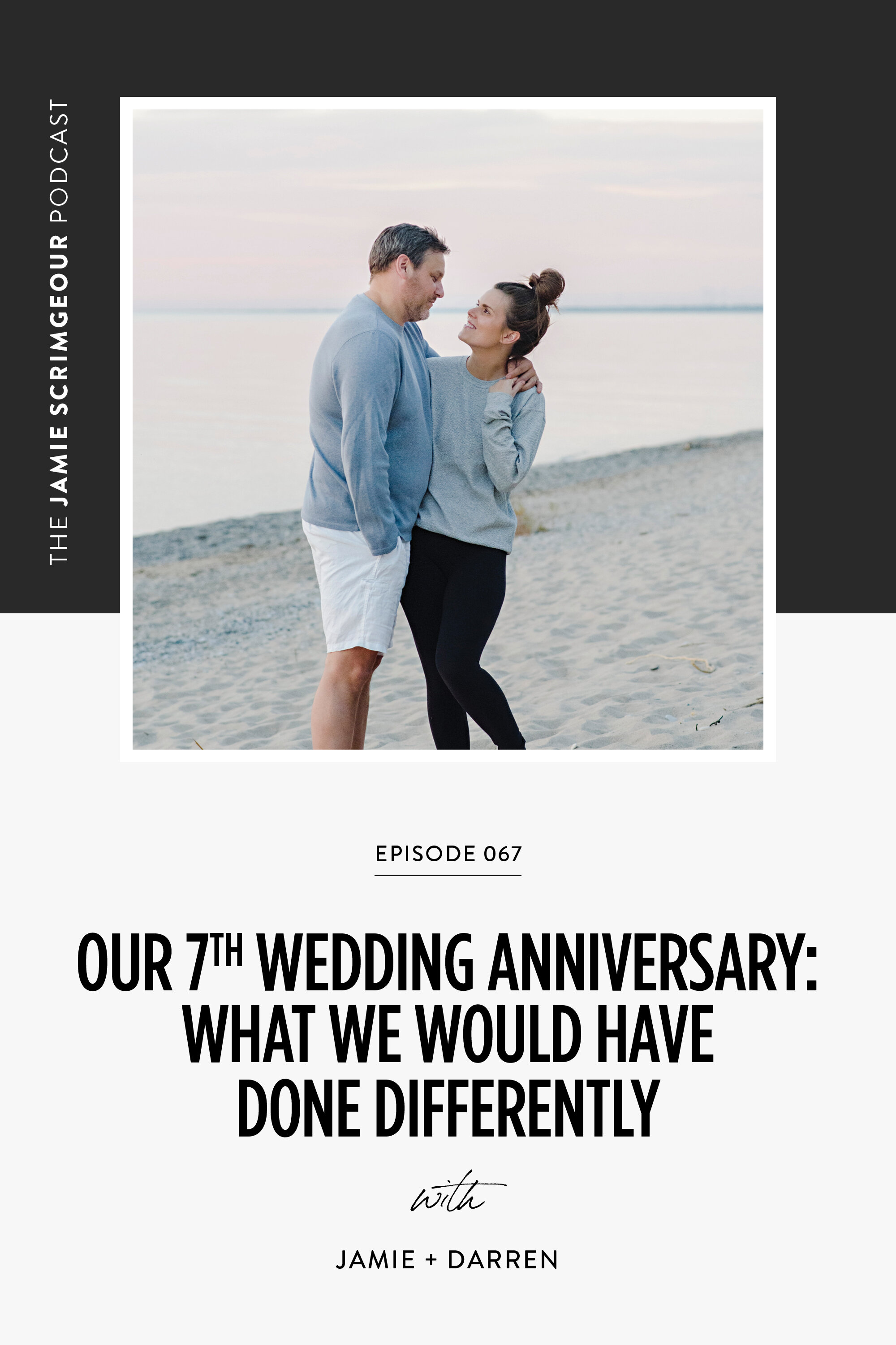 The Jamie Scrimgeour Podcast Episode 067 - Our 7th Wedding Anniversary: What We Would Have Done Differently
