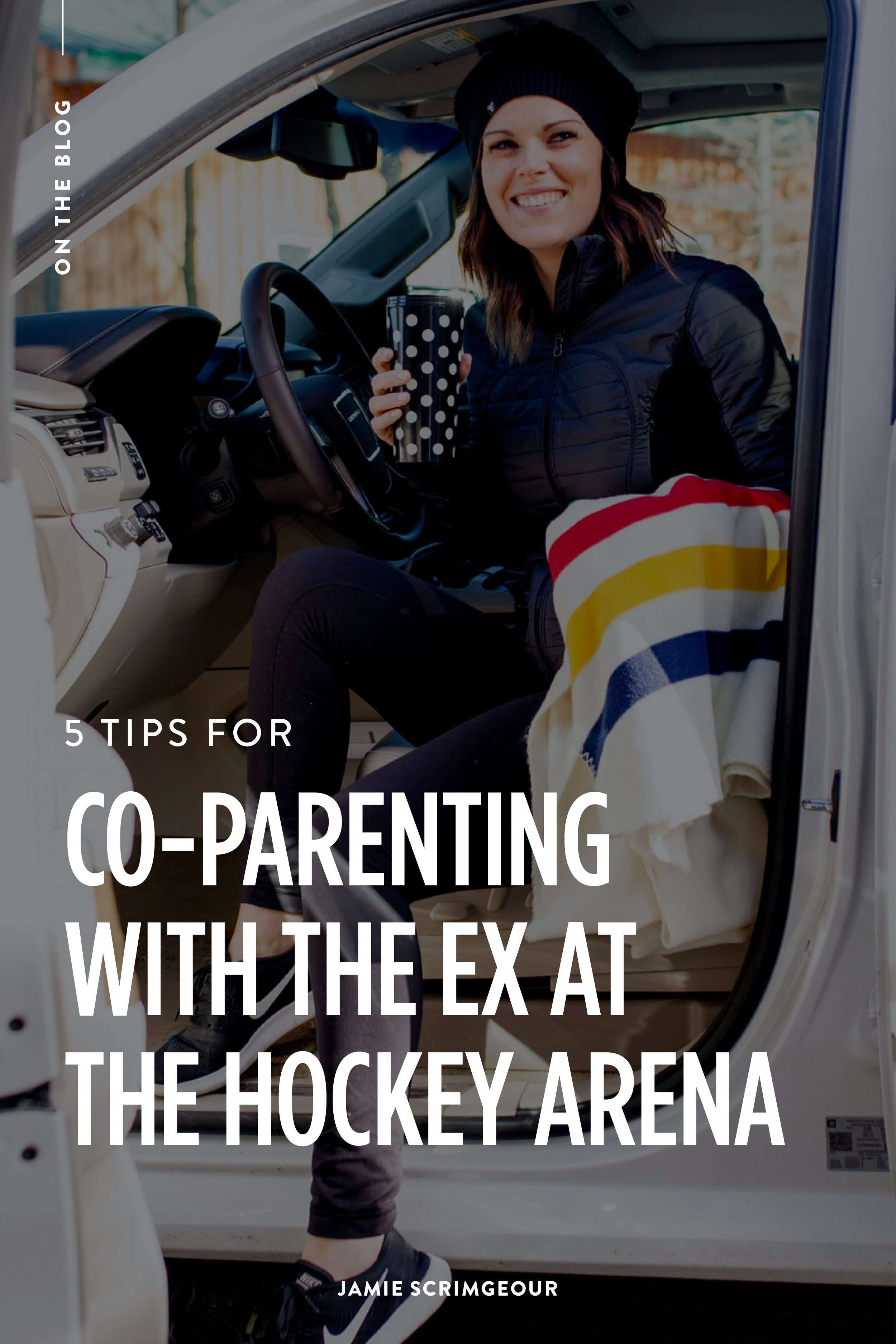 Jamie Scrimgeour - Co-Parenting With The Ex At The Hockey Arena - Stepmom Support