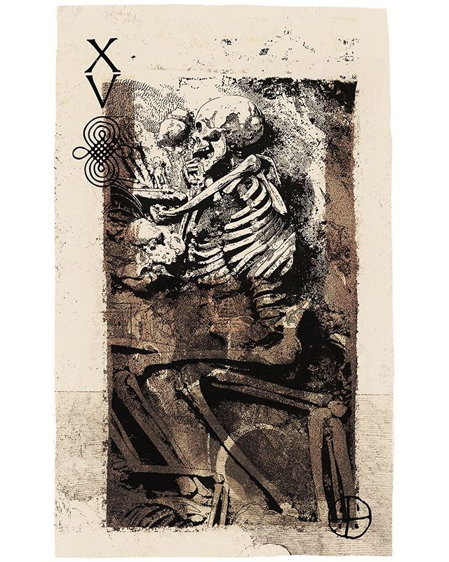 Sketchbook skeleton experiment from a few months back #sketchbook #drawing #collage #procreate