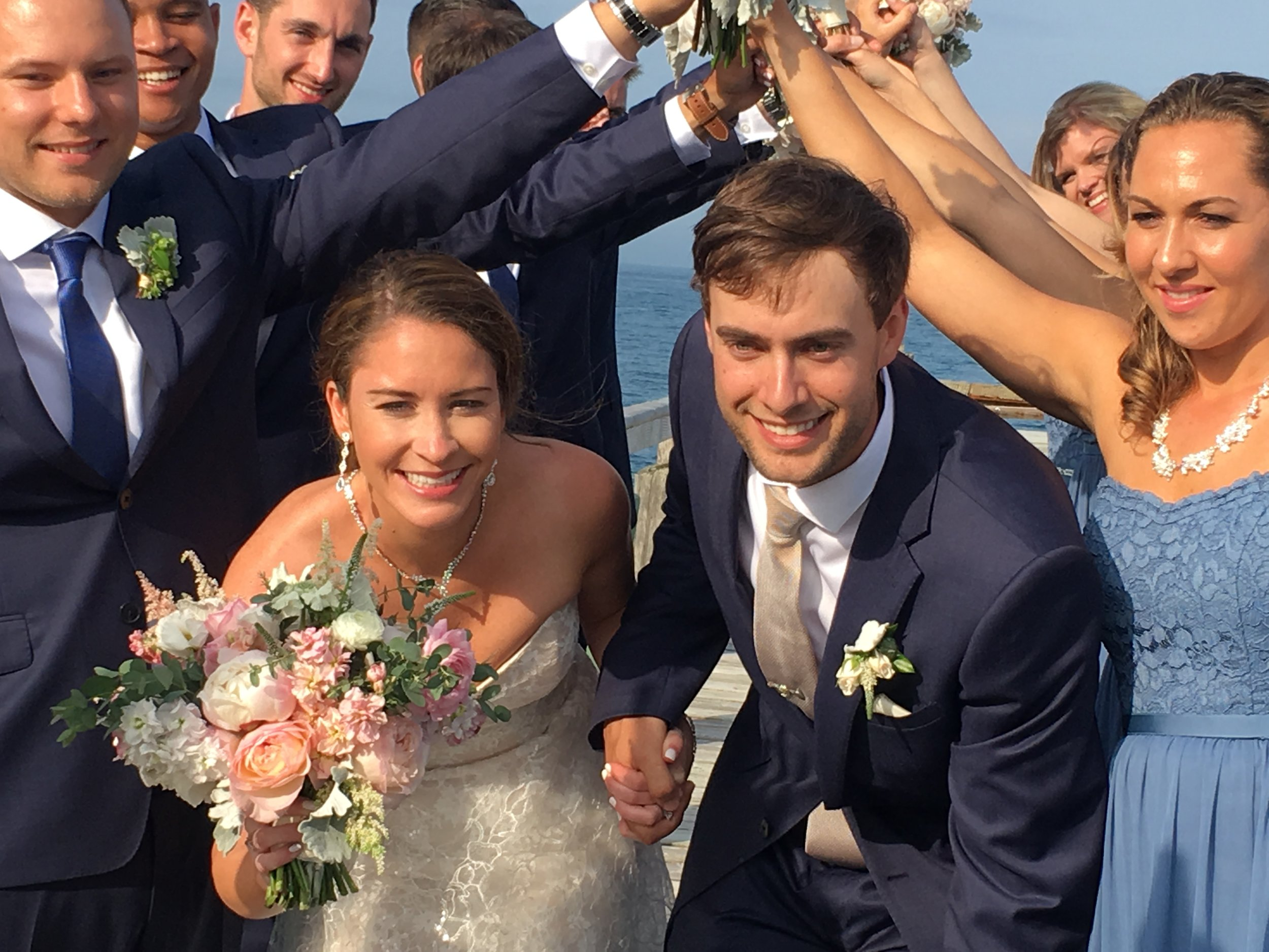 HUGE congrats to Cassidy and Will on tying the knot over the weekend!