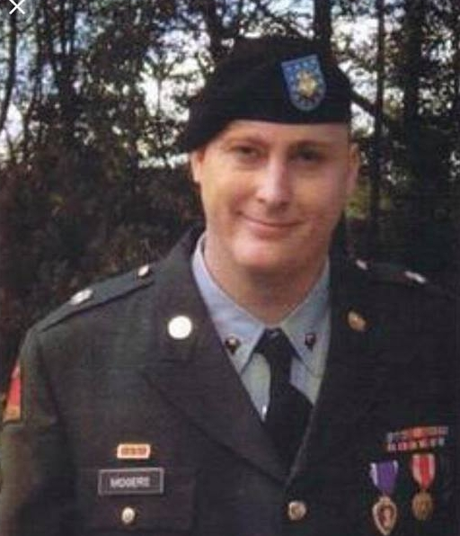 Justin Mooers, Retired U.S. Army Specialist