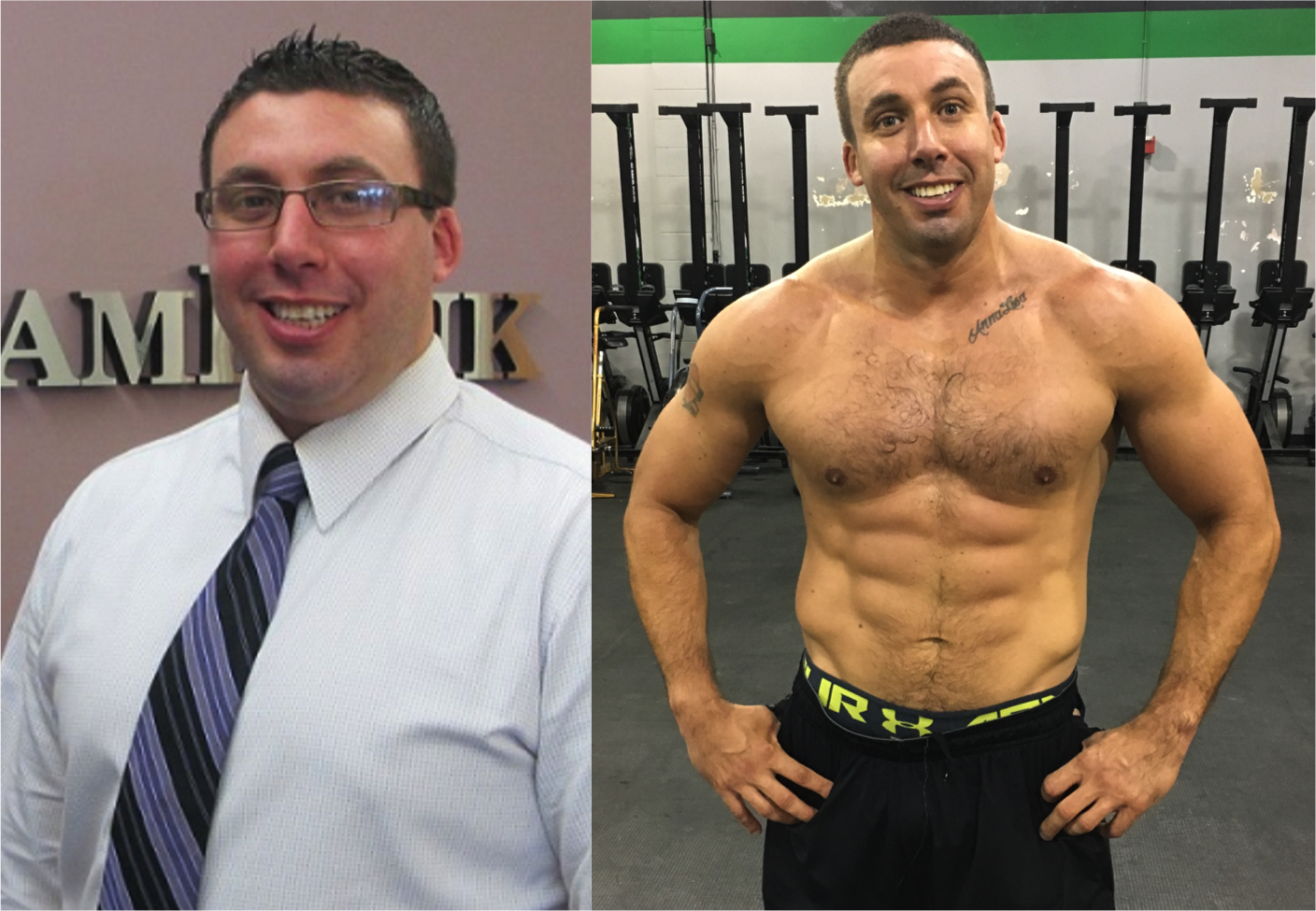 GTrain has lost 50 pounds since joining The Swamp!