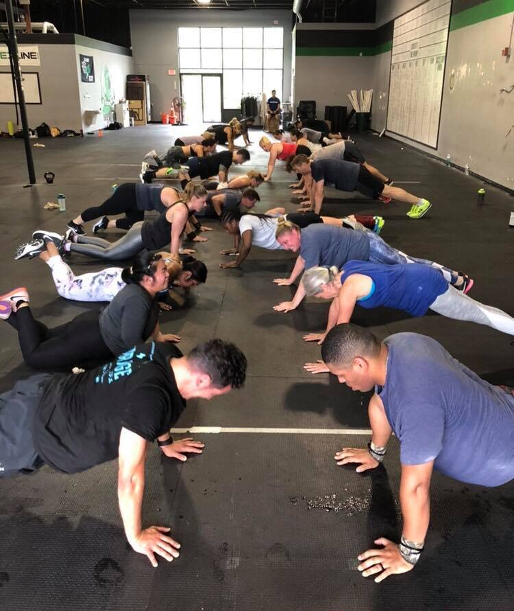 Push-Up Line Of Death