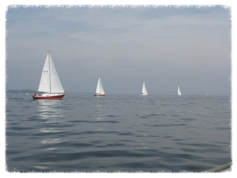 Sailing around the sound with the syc