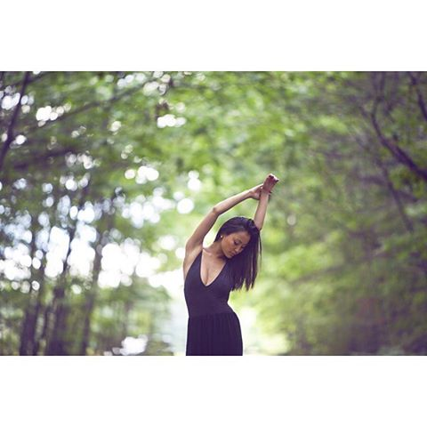 Dancing in the middle of a dirt road.. 💛 Photographer: @crystalallenphotography / Model: @sooparkhurst 🔥/ Location: Brunswick, ME #crystalallenphotography #crystalallen #losangelesphotographer #travelingphotographer #brunswick #maine #model #soo #naturallight #portrait #dancing #dirtroad #woods #mainewoods #summer #bodysuit #beauty #womensupportingwomen #brave #radiant #powerful #women