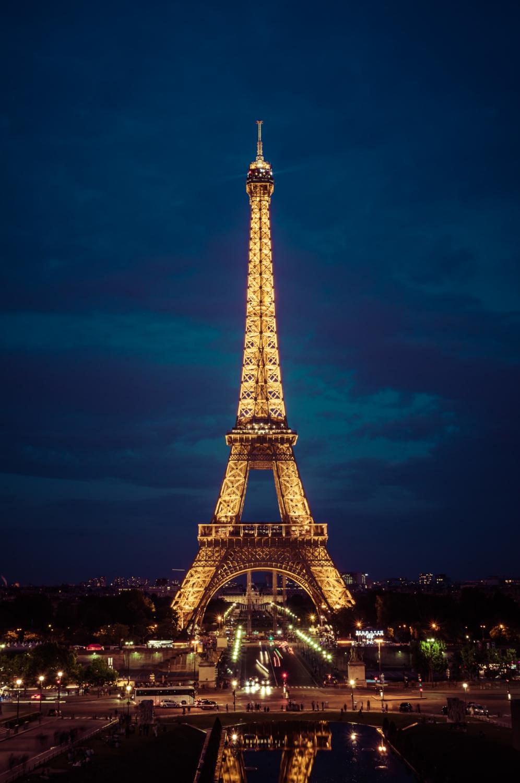 Gold and Blue - Paris, France