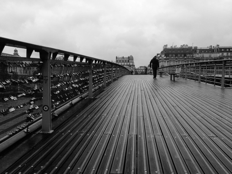 Walking Away from Perpetuity - Paris, France