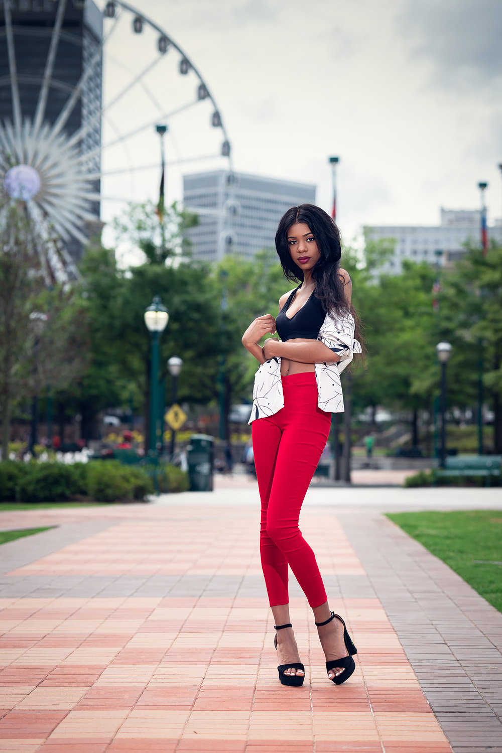 Centennial Olympic Park shoot