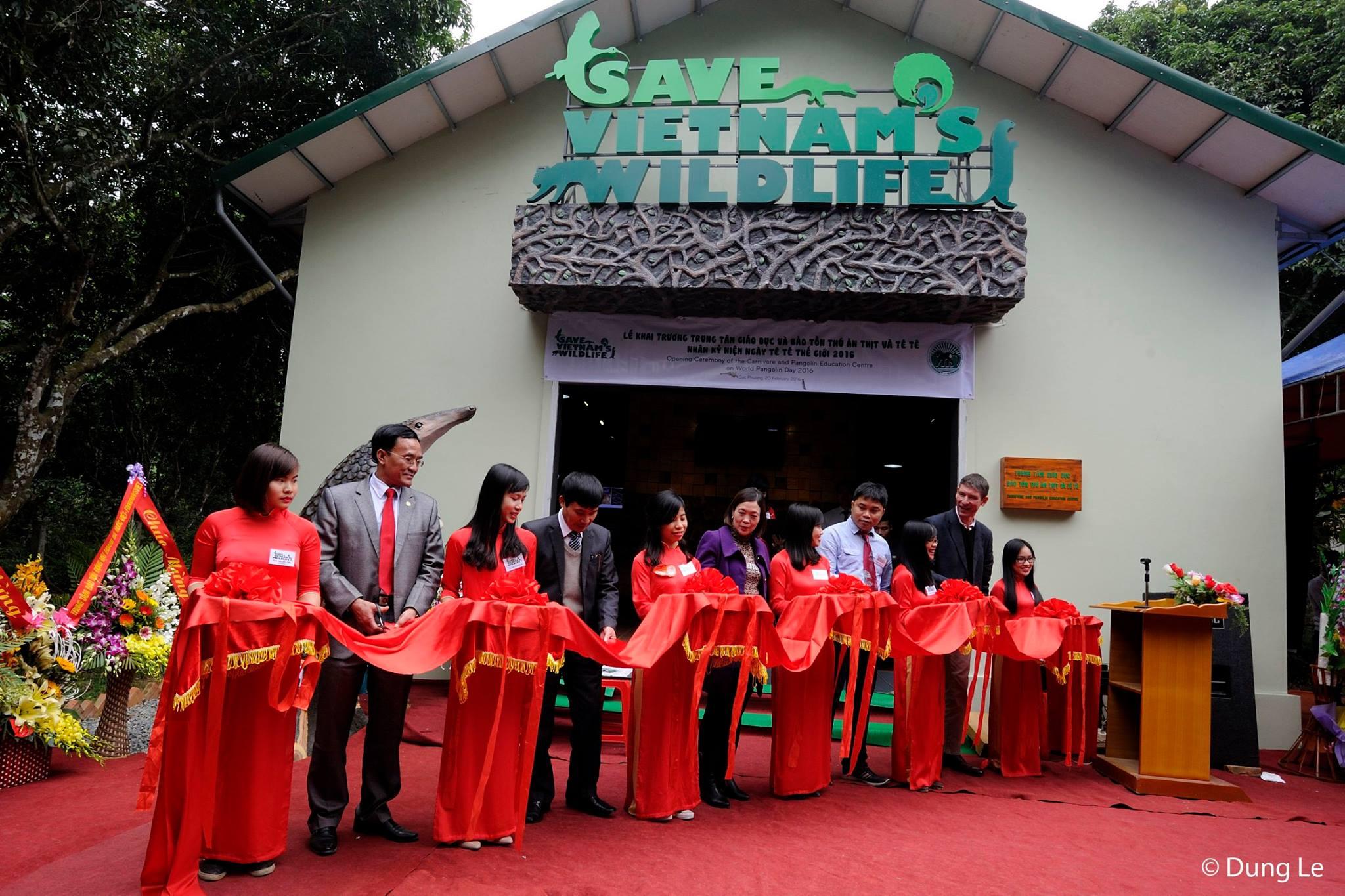 Credit: Opening of Vietnam's first pangolin education centre (c) phapluatplus.vn