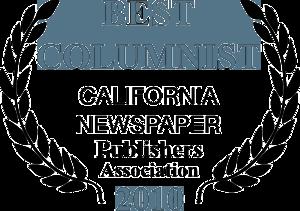 Doug McIntyre- Best Columnist 2010