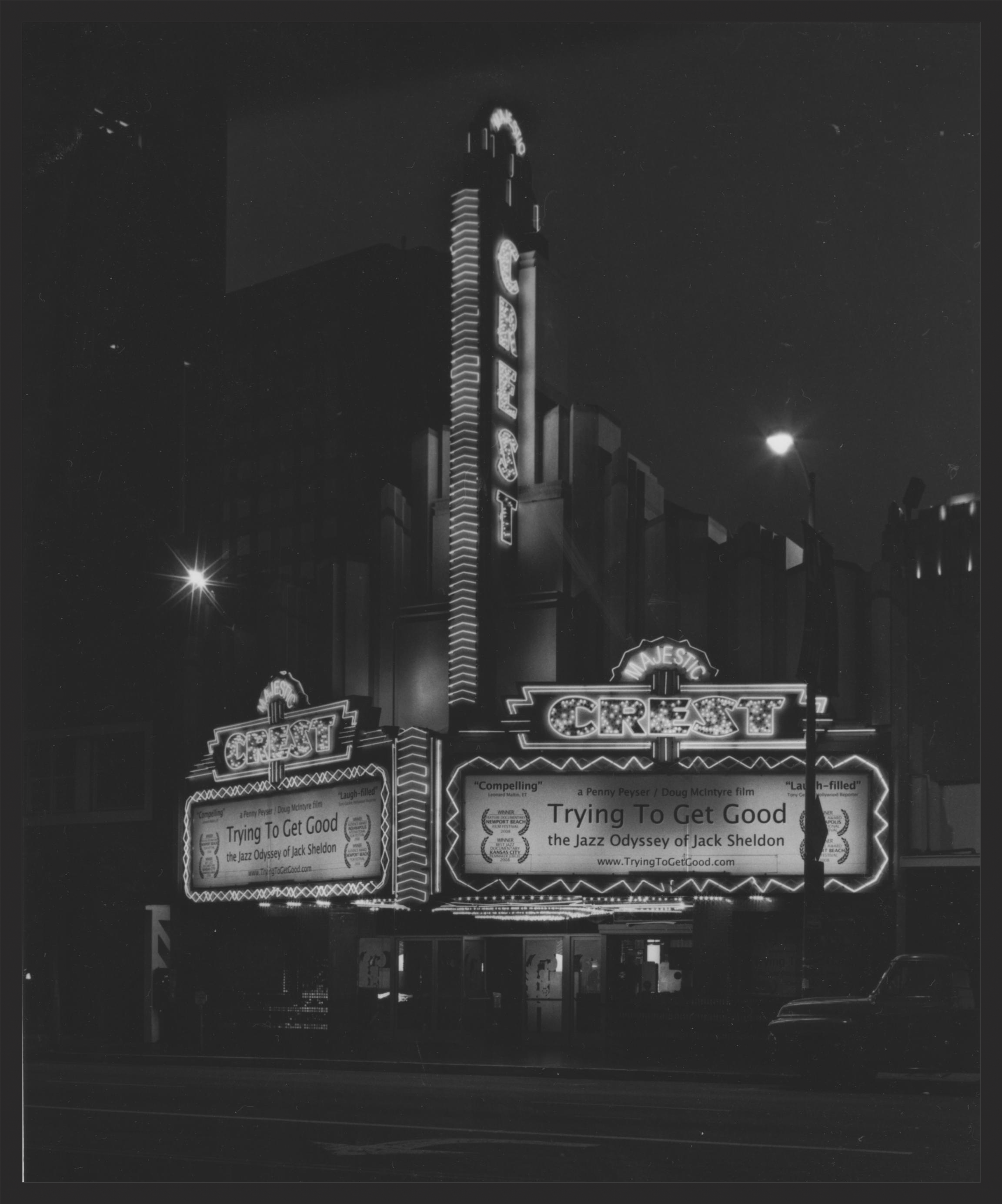 Majestic Crest Theater in Westwood, CA 2008