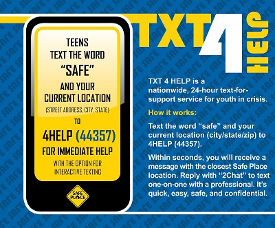 TXT 4 HELP Email Announcement Image.JPG