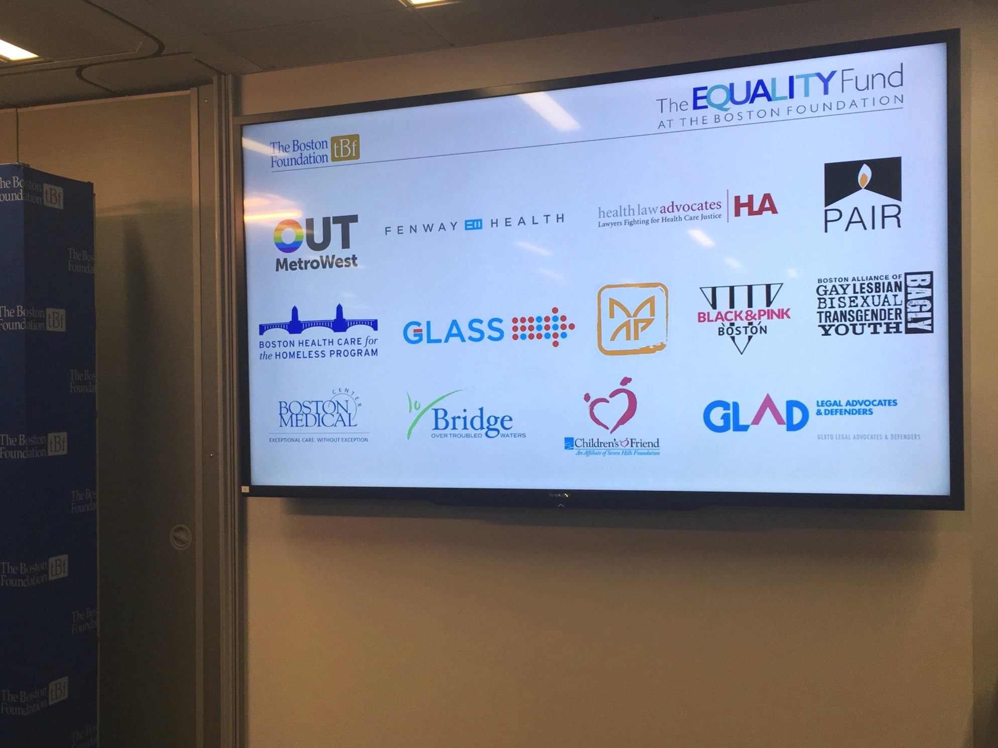 Bridge Over Troubled Waters is proud to be a part of the 2019 grantee cohort from The Equality Fund at The Boston Foundation.