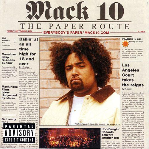 Mack 10  Paper Route    Recording