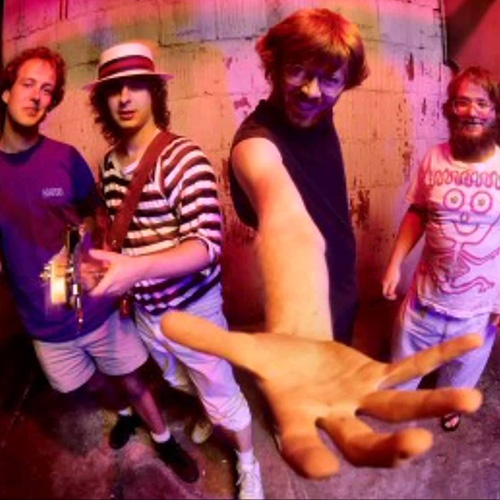 Welcome to the 1990s: (L-R) Page McConnell, Mike Gordon, Trey Anastasio, and John Fishman