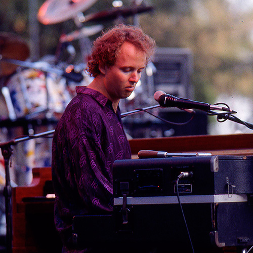 Page McConnell performing in 1992