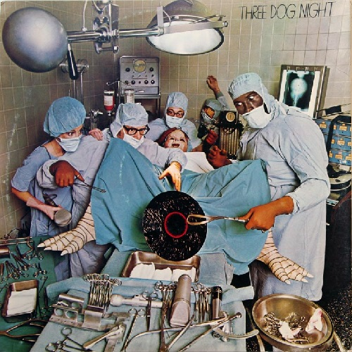 Original uncensored album sleeve of  Hard Labor