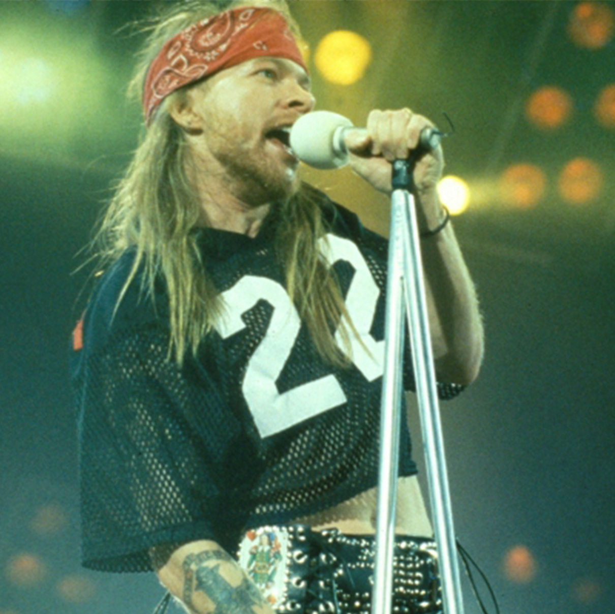 Axl Rose (or whatever his real name is) in 1992