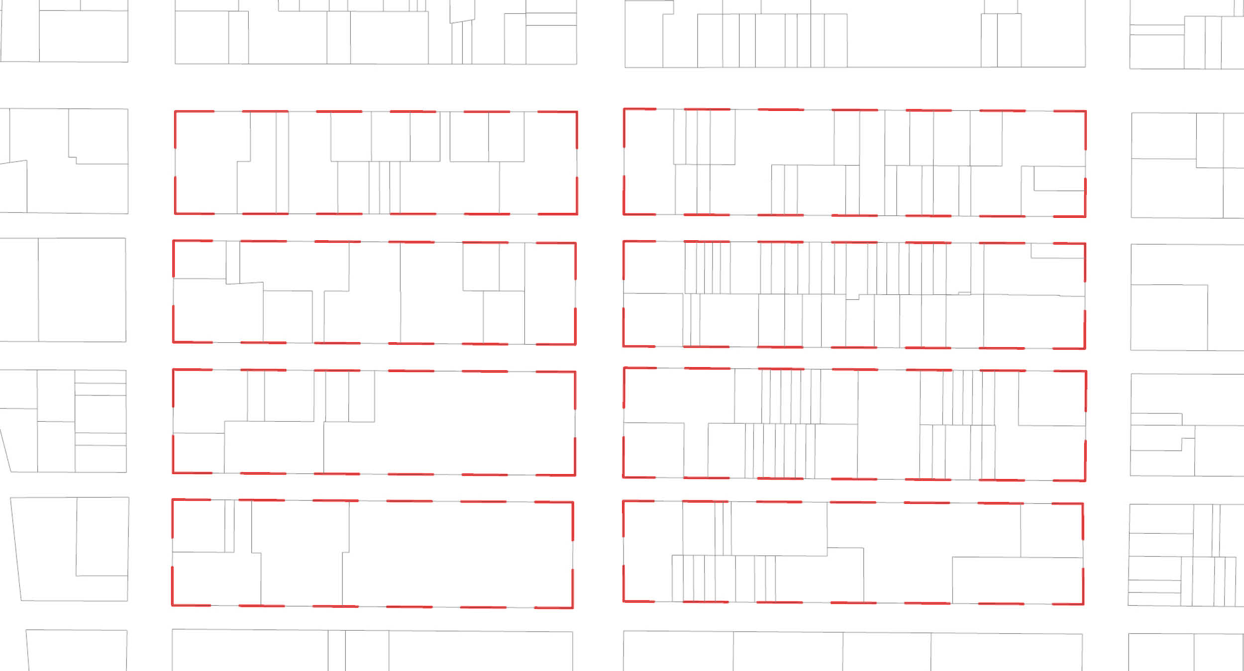 NYC: FAR = Gross Floor Area / Lot Area