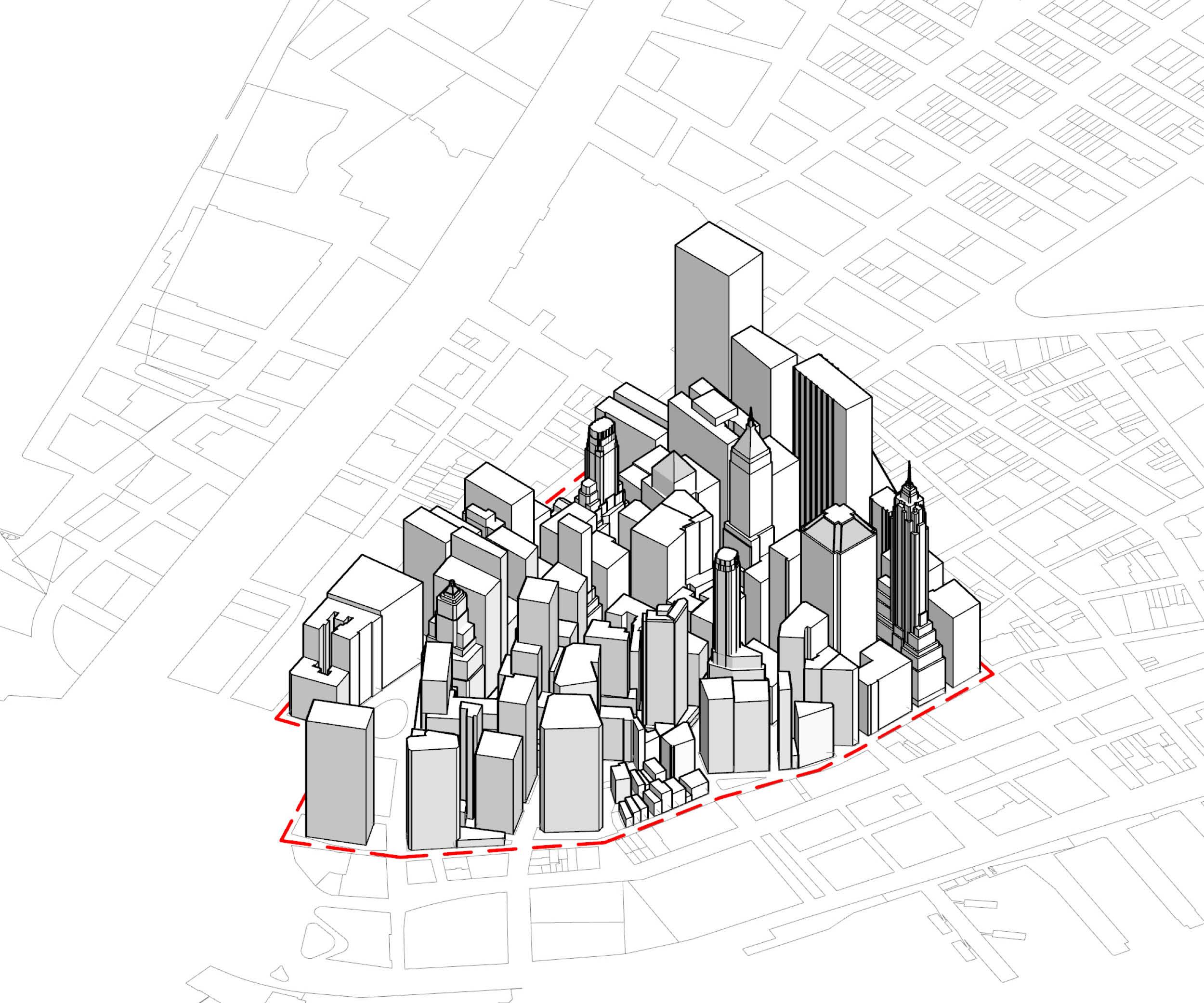 Financial District   LD FAR: 11.3  NYC FAR: 18.0