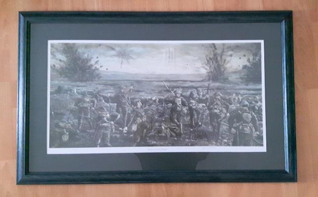 Battle of Vimy Ridge - large print