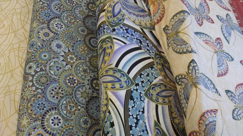 butterfly Fandango by Ann Lauer for Benartex