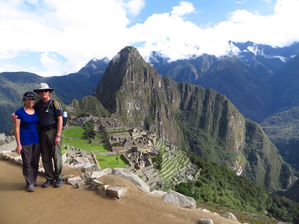 Machu Picchu really looks like the postcards