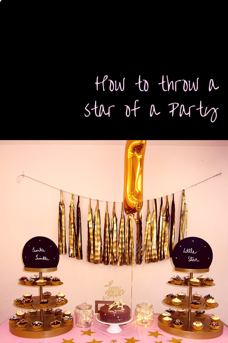 how to throw a star party