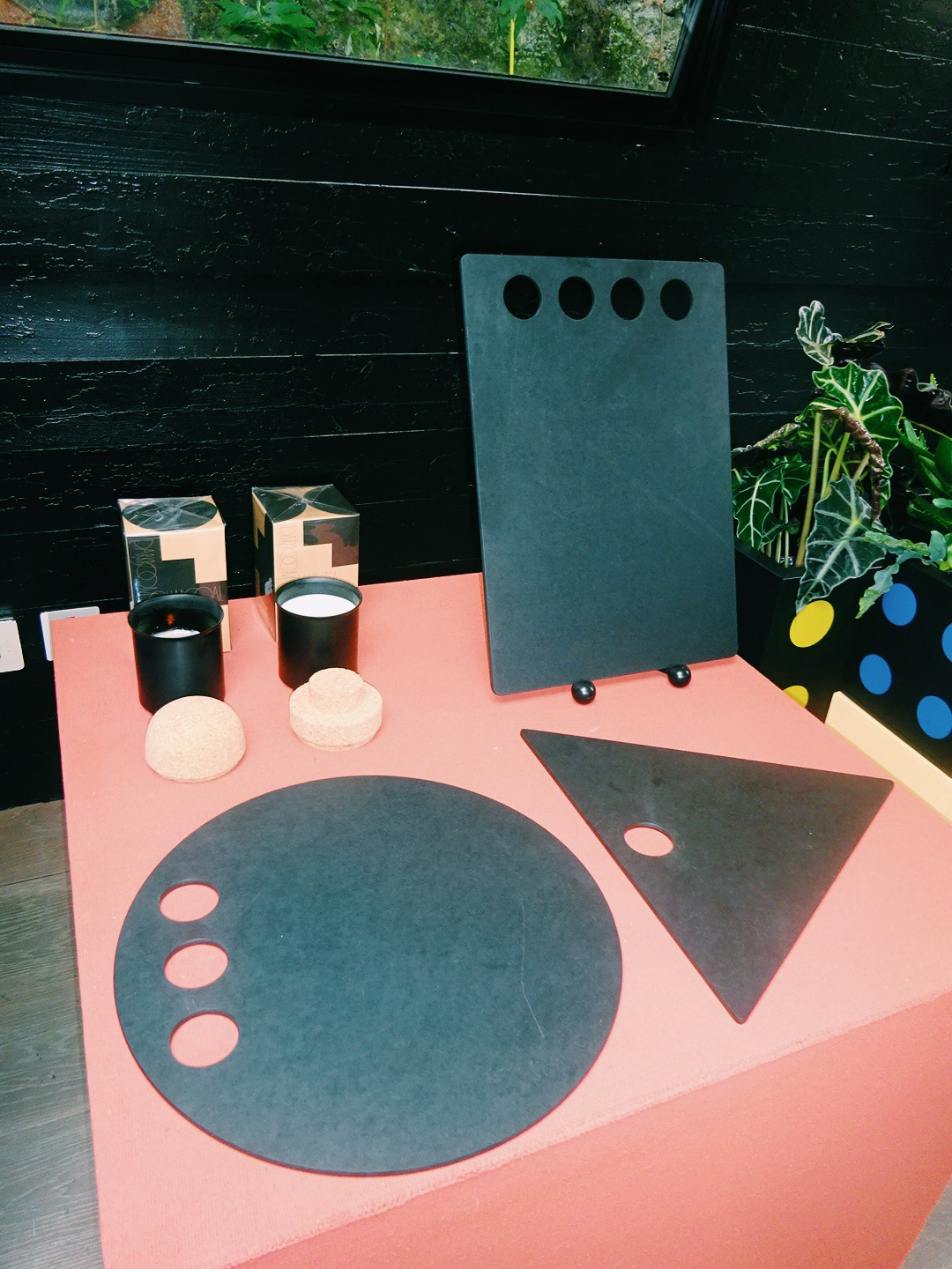 Cutting boards and candles by Darkroom - I want them all!