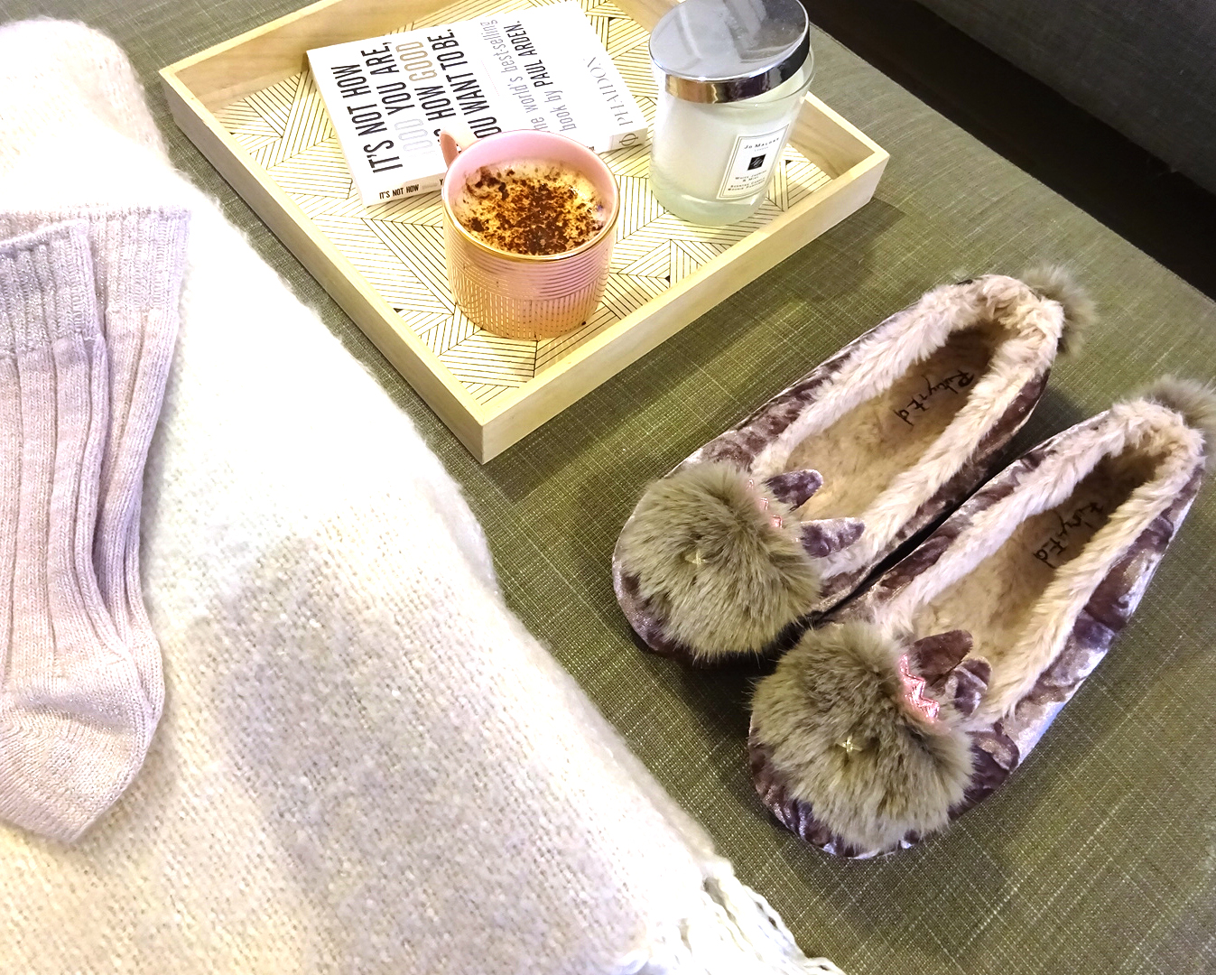 giveaway competition slippers