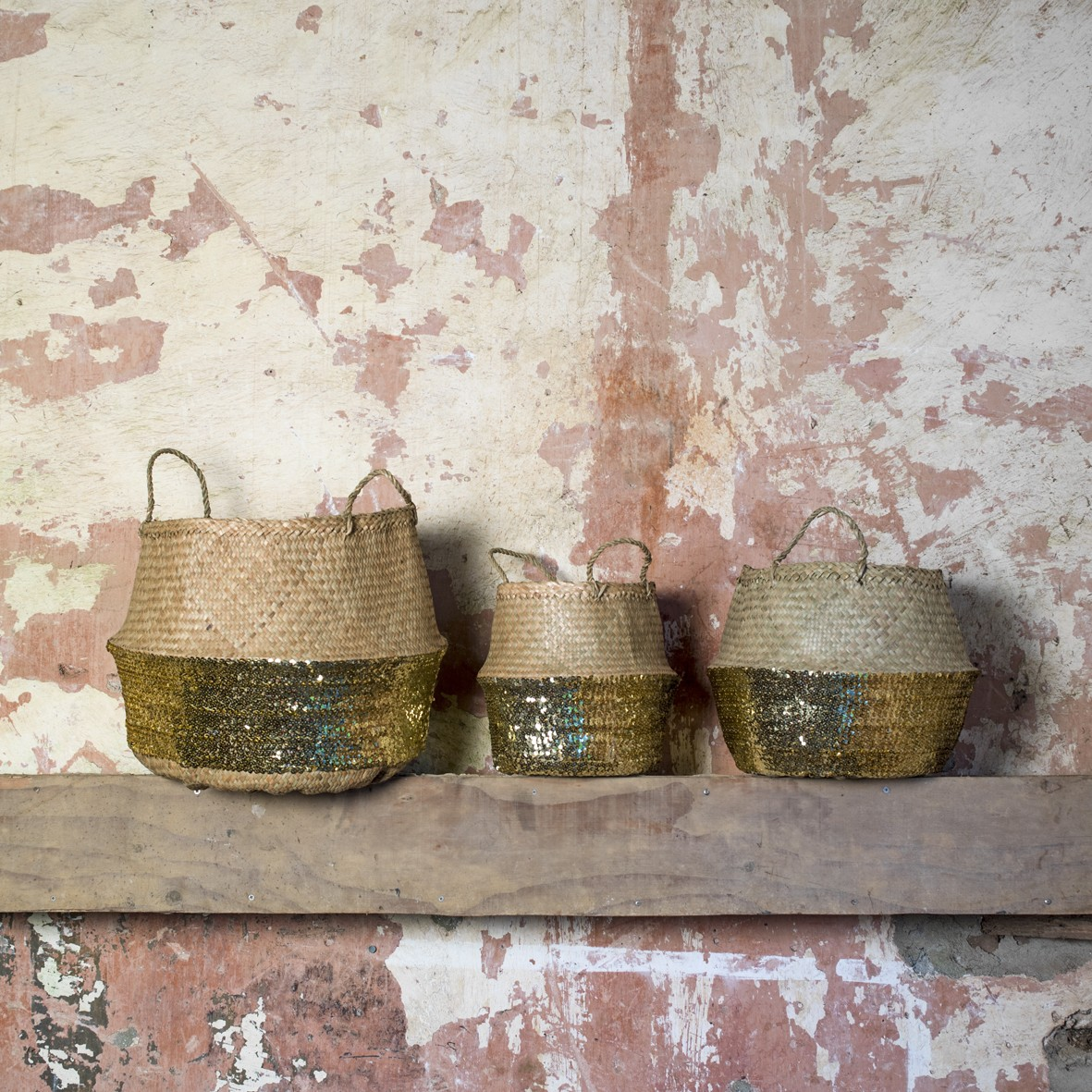 Toulouse Sequin Baskets from £19