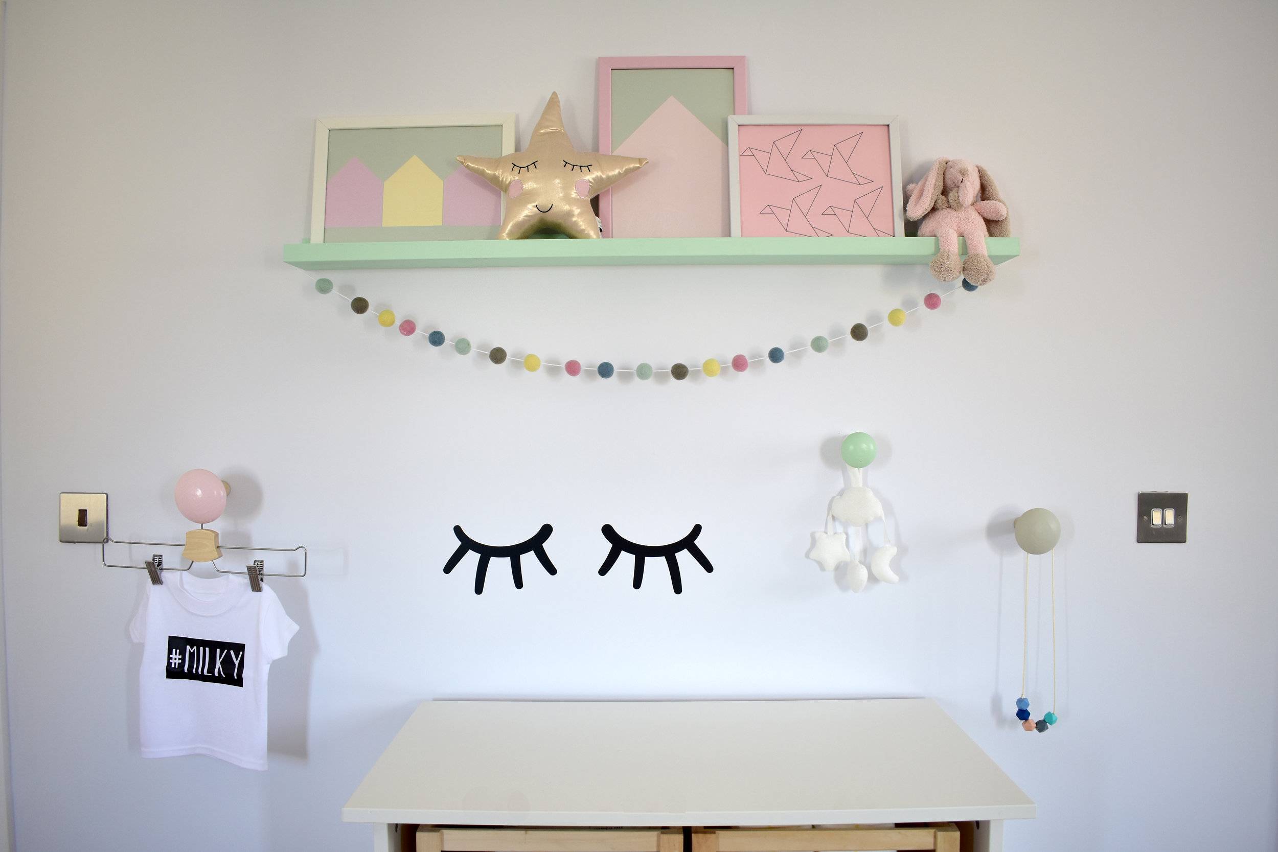 nursery wall the room alive