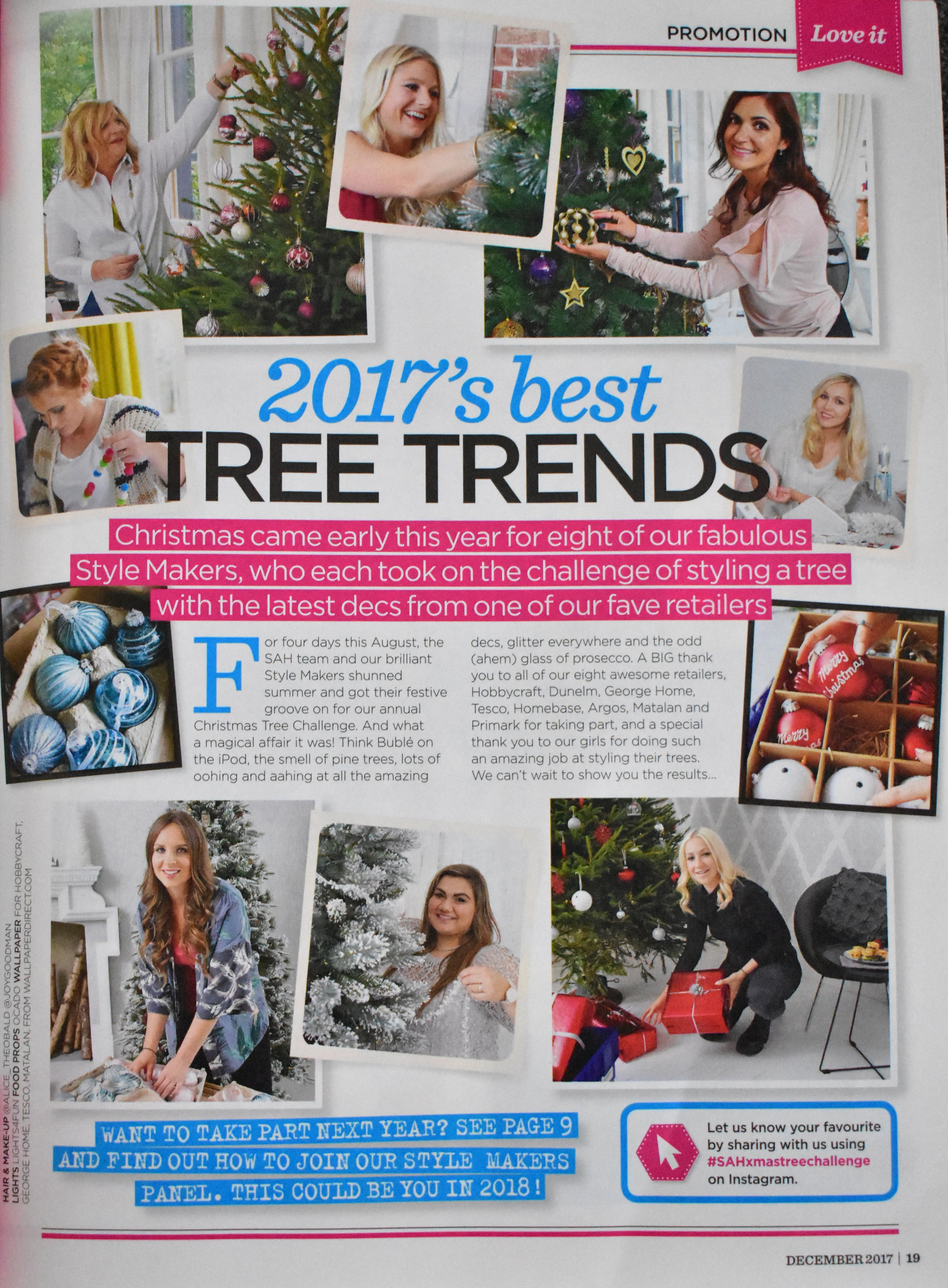 All The Style Makers hard at work, including  Mrs Rackley Home , Athina  Topology Interiors ,  Robyn Swaine ,  Gemma ,  Lotte ,  Lauren