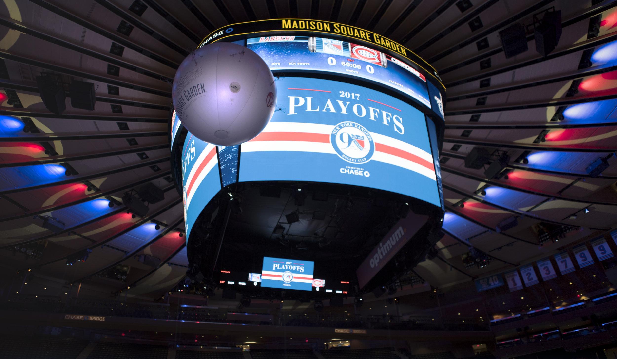 AirCamOne 2017 New York Rangers Playoffs