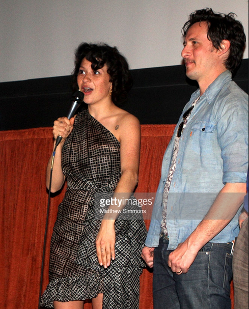 Actress Alia Shawkat during an audience Q & A at the world premiere at SBIFF