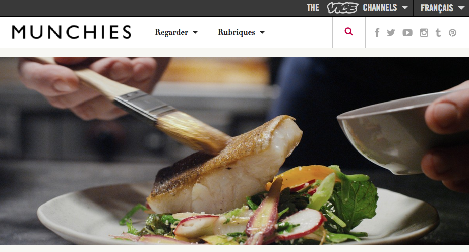 Vice's food oriented branch, called MUNCHIES, has published an interview with P.I. Directors Adrian Dentzel and Danielle Rubi, as well as a recipe for an unforgettable fish dish featured in the short film, by star and chef Pierre Jancou. Simply click on  HERE