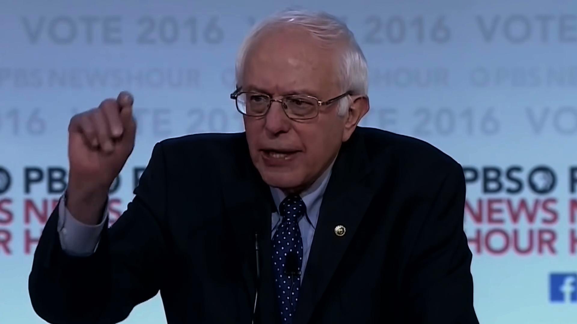Bernie Sanders   Sixth Democratic Debate