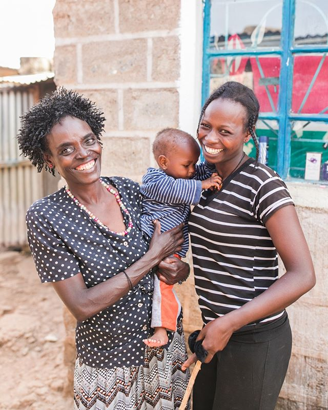 Meet Teresa, one of her daughters, Dorcas, & one of her granddaughters, Blessing. Teresa recently graduated from Kiandutu center. When we visited Teresa's home, we also got to spend time with Dorcas, Blessing, and Susan, another one of her grandchildren. Despite having to overcome difficult circumstances, their joy was infectious. Their family reminds us that the impact of CARE for AIDS is for generations to come. We're not only impacting our clients but we're also impacting their children and their children's children. We're empowering this generation and generations to come to live a life beyond AIDS. #careforaids #lifebeyondaids