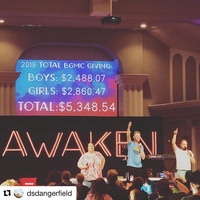 Amazing giving to BGMC from ND Students and leaders this week at kids camp.  I love being a part of instilling a heart of generosity in the next generation. ・・・ #Repost @dsdangerfield  North Dakota kids love missions. ❤️🌍❤️ @agkidmin @agworldmissions @buddybarrel
