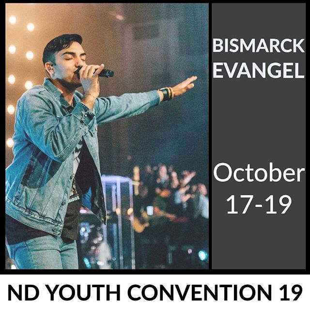 Just about a month away.... it's going to be incredible when hundreds of students from around the state gather together to lift up the name of Jesus!! #ndyc19