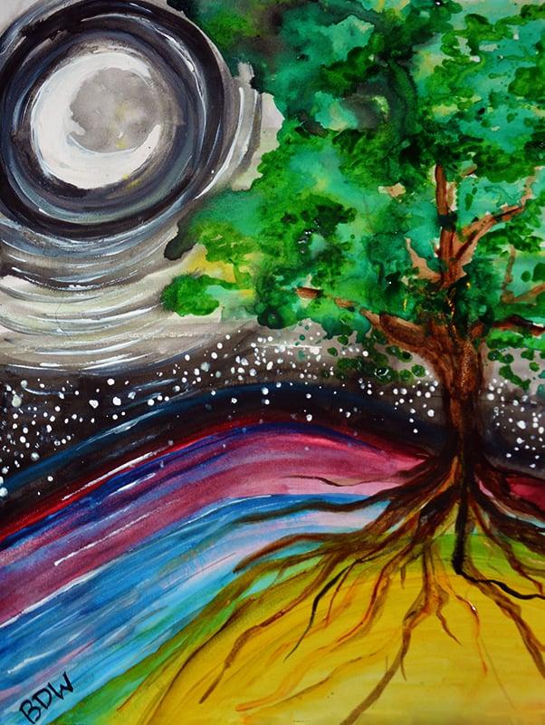 Moon Mother of Oak