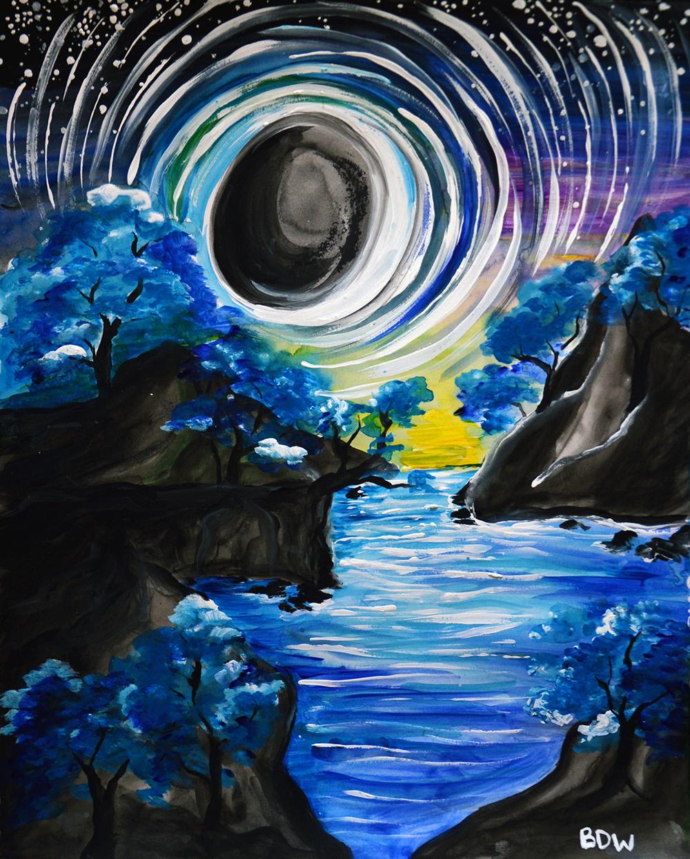 Moonlighting Precipice