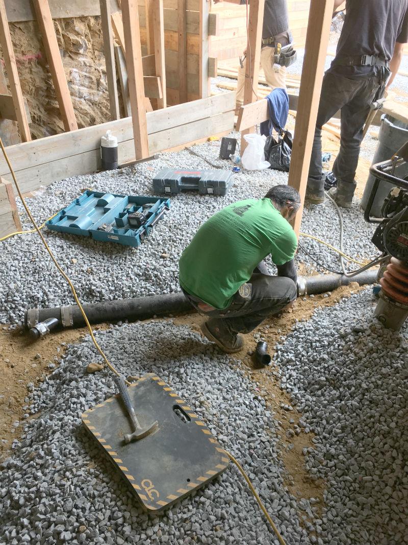 Hampton Plumbing Project