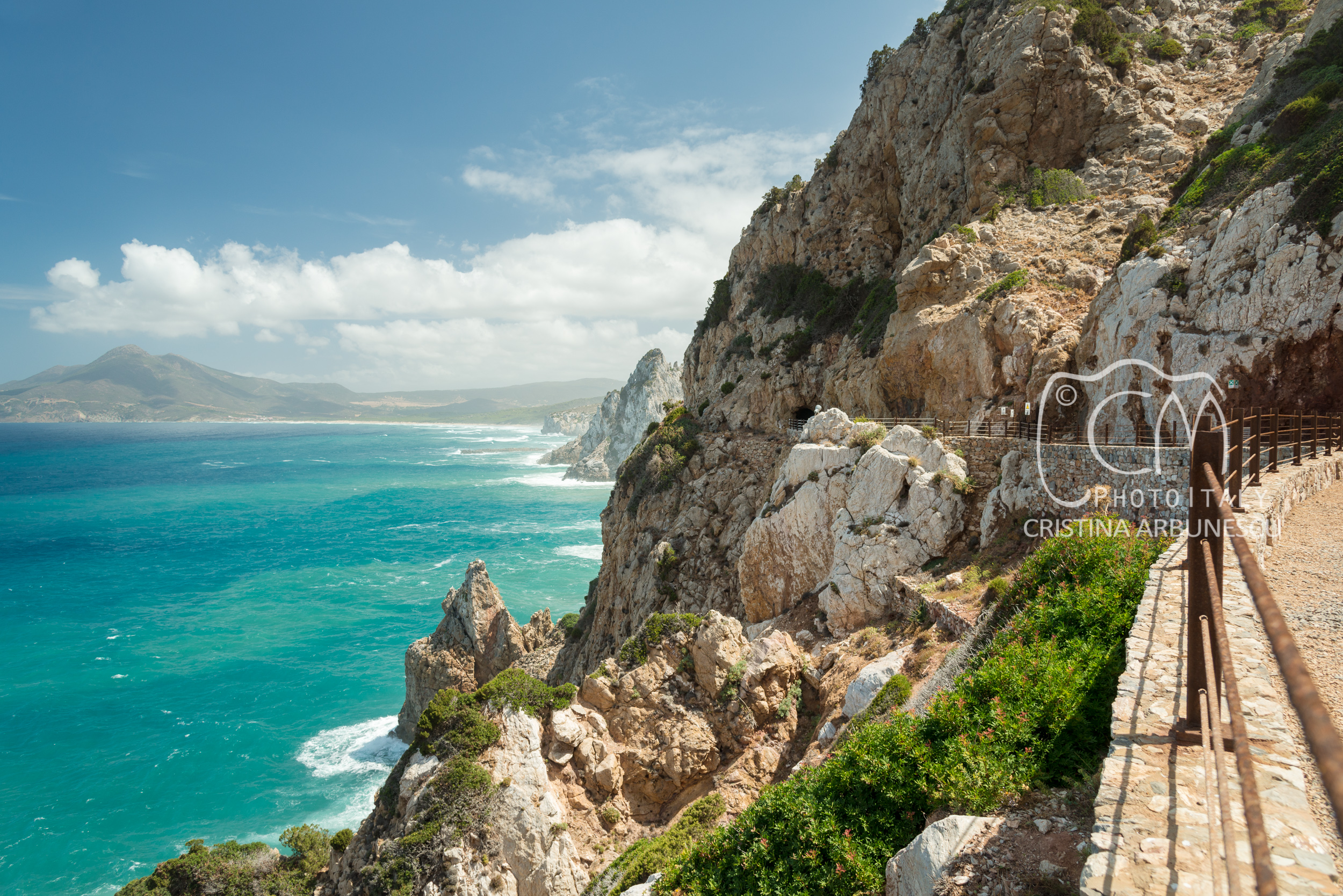 View from the old mine of Buggerru, Galleria Henry, Sardegna