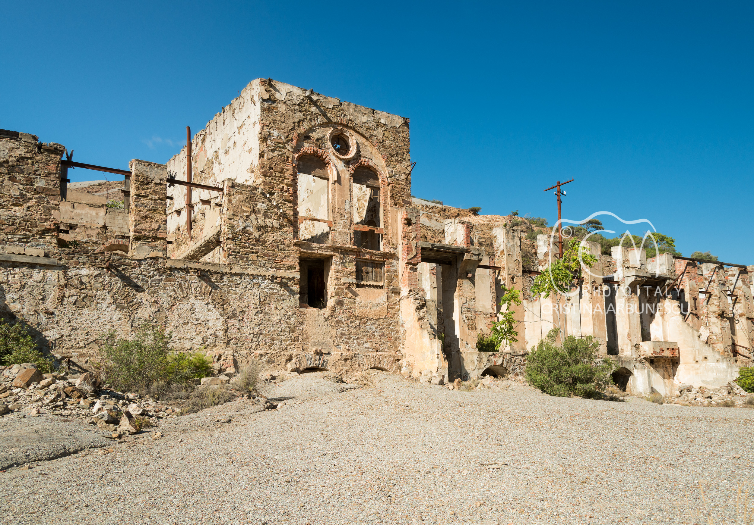 Brassey Washery (Laveria Brassey), Naracauli, between Ingurtosu and Piscinas, Sardegna