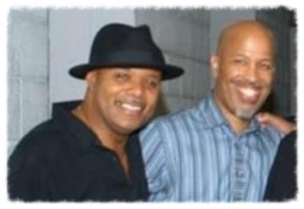 With NY radio legend Lenny Green
