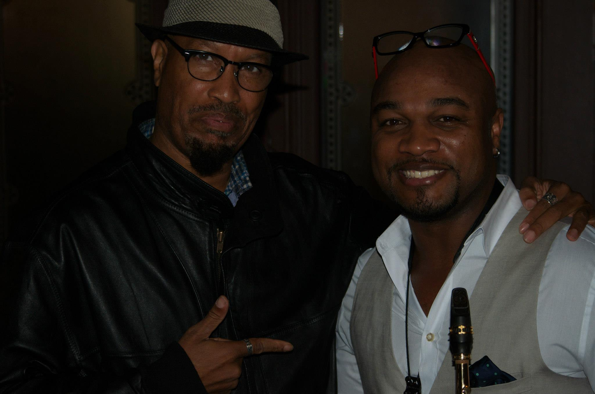 With Marcus Anderson in Germany