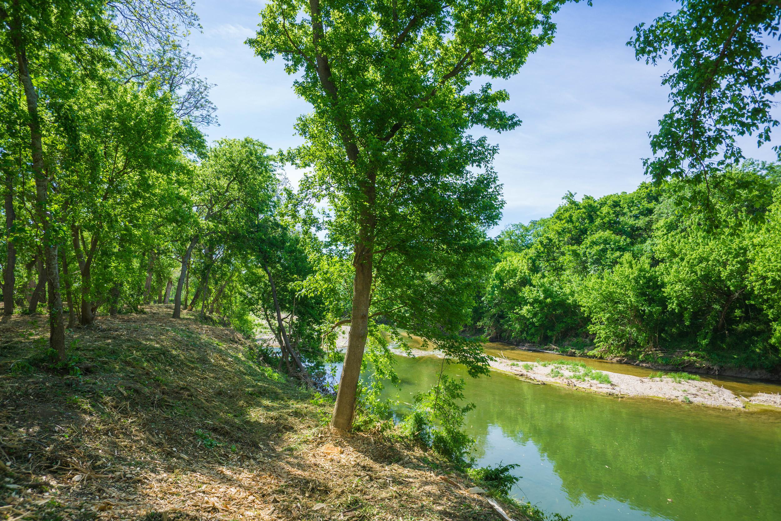 San Gabriel River Jonah, TX